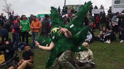 Au Canada, la fête annuelle pro-cannabis était la dernière avant la