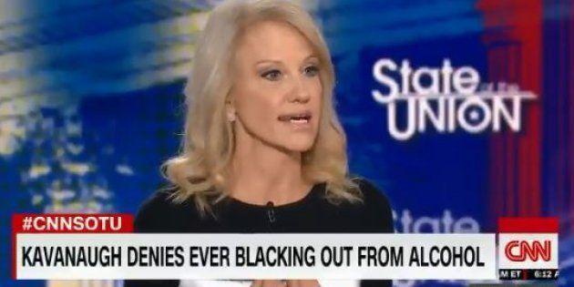 Kellyanne Conway, proche conseillère de Donald Trump, révèle en direct avoir été victime d'agression