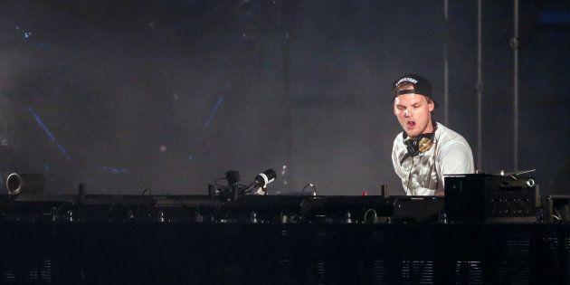 Le DJ Avicii le 30 mai 2015 en