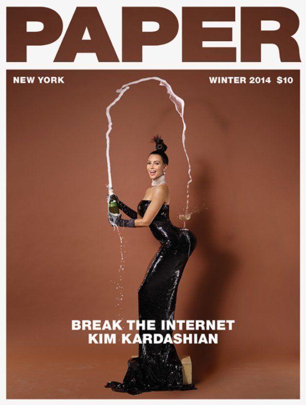 """Nicki Minaj veut """"casser Internet"""" avec cette Une de Paper"""
