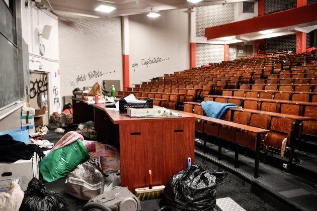 Le président de Tolbiac, Georges Haddad, porte plainte après l'occupation des étudiants, selon le