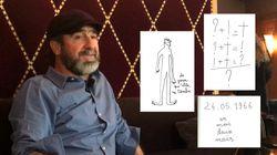 Éric Cantona décrypte trois de ses dessins pour