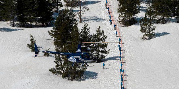 Génération Identitaire: la société des hélicoptères loués par Génération Identitaire au col de l'Echelle