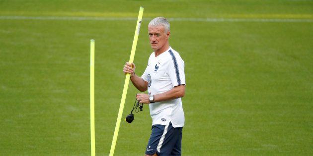 Didier Deschamps, sélectionneur de l'équipe de France de