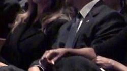 Ce moment de complicité entre Melania Trump et Barack Obama n'est pas passé