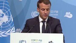 À la Cop 23, Macron demande aux villes américaines de passer outre la décision de