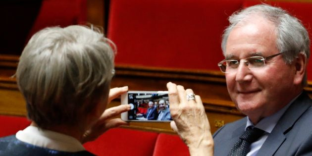 Jean-Michel Clément à l'Assemblée nationale le 22 février