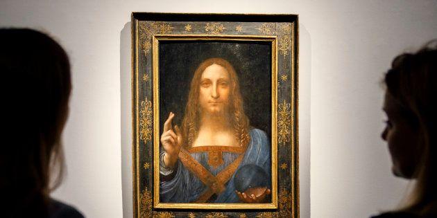 Ce tableau de Léonard de Vinci est désormais le plus cher du