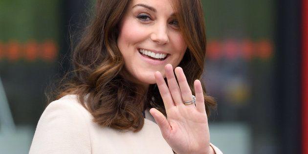 La duchesse de Cambridge le 22 mars à