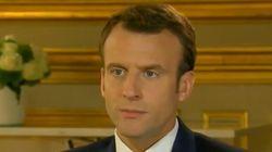 En français ou en anglais, Macron est inflexible: