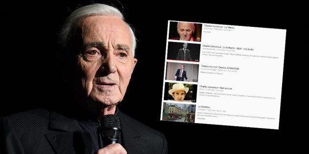 Charles Aznavour a enregistré plus de 1000 chansons au cours de sa