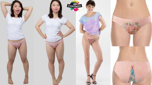 Sous-vêtements pour les hommes avec de grosses queues