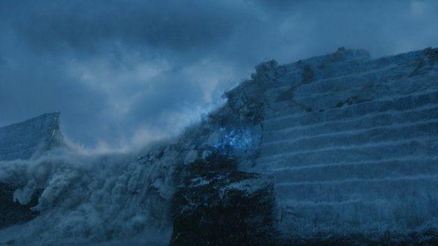 L'effondrement du Mur dans la 7e saison de