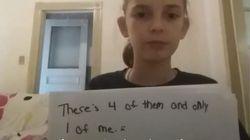 Harcelée à l'école, elle ose témoigner en vidéo et les Yankees de New York lui