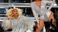 La chute mémorable de Beyoncé et sa sœur Solange sur la scène de