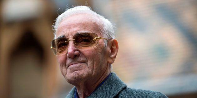 Charles Aznavour à Beaune le 19 novembre