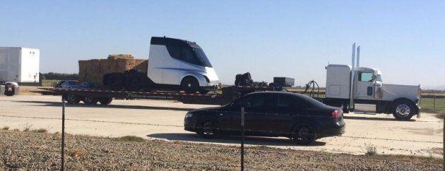 Une photo du probable camion