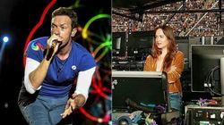 Soit Dakota Johnson est une grande fan de Coldplay,