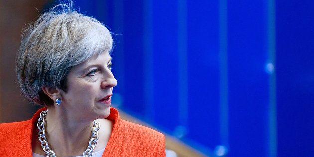 Theresa May à Birmingham le 30
