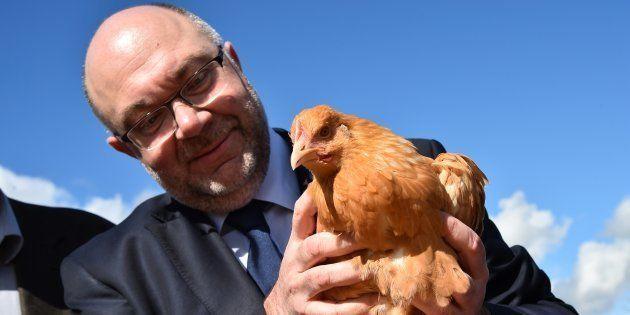 Stéphane Travert, le ministre de l'agriculture, fustige