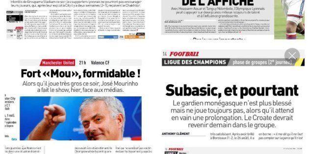 Un bel hommage à Charles Aznavour, l'Équipe glisse des références au chanteur dans ses titres. Un exercice...
