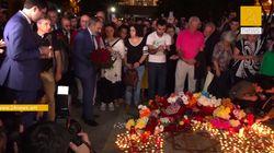 À Erevan, les chansons d'Aznavour ont résonné sur la place à son