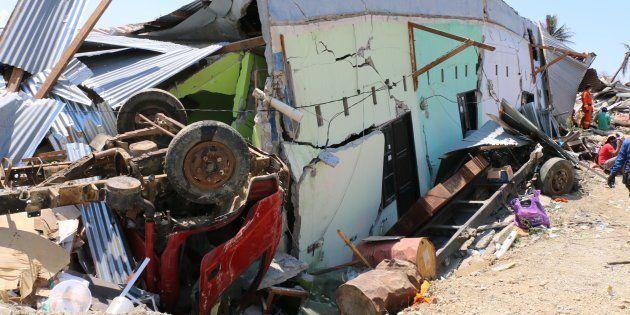 Le séisme et le tsunami en Indonésie ont fait plus de 1200