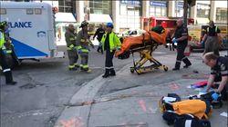 Les images de Toronto après qu'une camionnette a foncé dans la