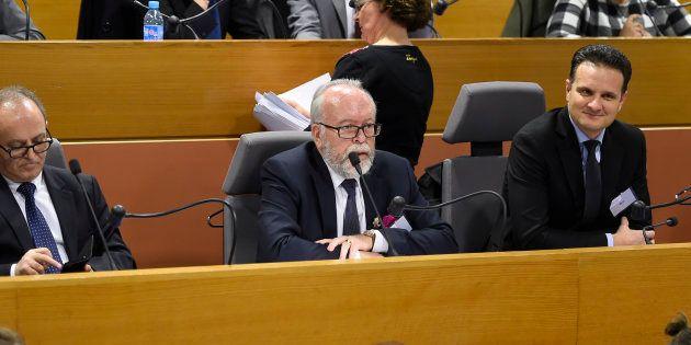 Le chef des élus régionaux FN Wallerand de Saint-Just dénonce une