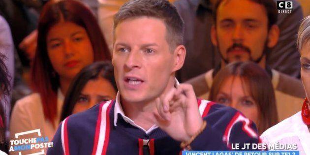 TPMP: Vincent Lagaf', accusé de se servir de C8 pour revenir sur TF1, a particulièrement agacé les chroniqueurs...