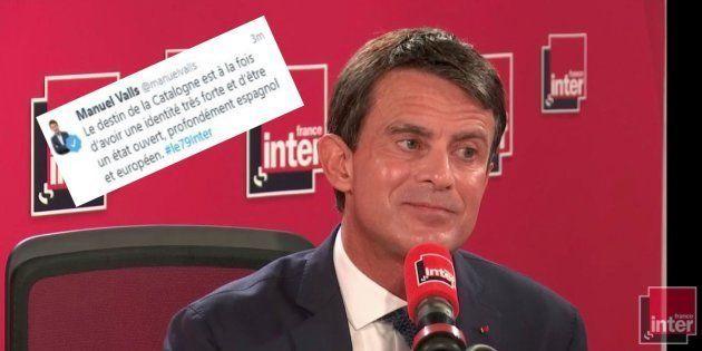 Le CM de Manuel Valls a fait une belle boulette sur l'indépendance de la