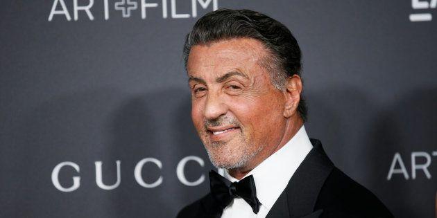Sylvester Stallone à Los Angeles le 29 octobre