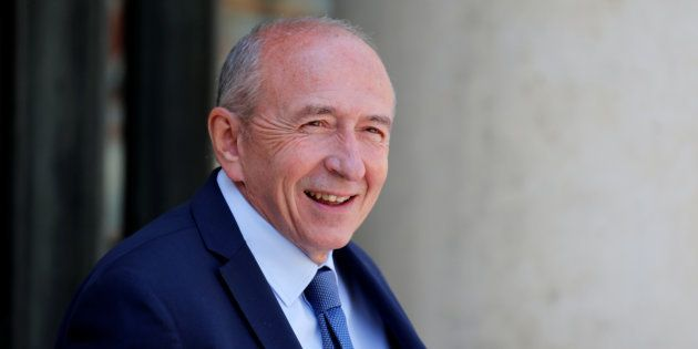 Gérard Collomb à l'Elysee le 6 juillet