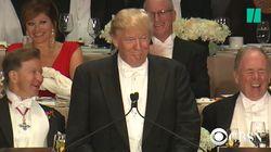Trump ne participe pas au dîner des correspondants de la Maison Blanche, et voici les blagues gênantes auxquelles ils vont
