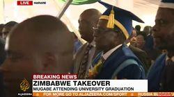 Mugabe réapparaît en public après son arrestation par les