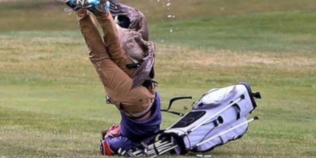 Un jeune golfeur s'est fait attaquer par une oie dans le Michigan, aux