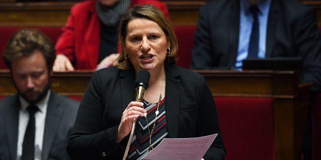 Valérie Rabault à l'Assemblée nationale le 30 janvier
