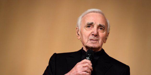 Charles Aznavour à Genève le 13 mars