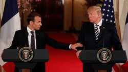 Comme Trump, Macron veut un nouvel accord avec