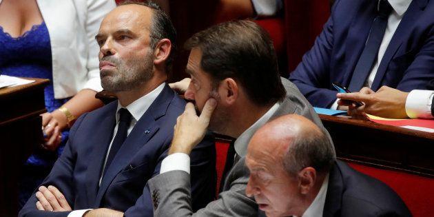 Edouard Philippe à l'Assemblée nationale le 24