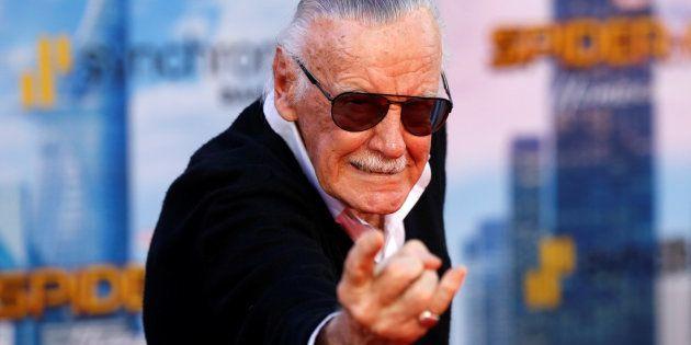 Stan Lee, papa de nombreux super-héros Marvel, accusé d'agression