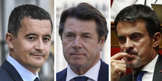 Manuel Valls, Christian Estrosi et Gérald Darmanin ont d'ores et déjà exclu de rejoindre le ministère...