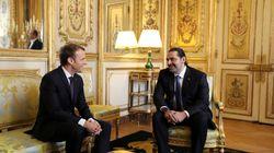 Macron accueille Hariri à l'Élysée