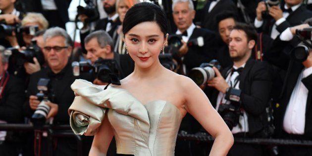 L'actrice chinoise Fan Bingbing présente lors de la 71ème cérémonie du Festival de Cannes, le 11 mai...