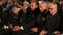 Dans la Somme, l'hommage de Philippe et du prince Charles aux Australiens engagés dans cette bataille décisive de