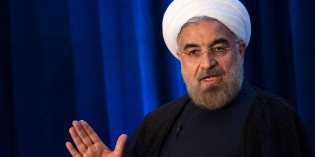 Le président iranien Hassan Rouhani à New York en septembre