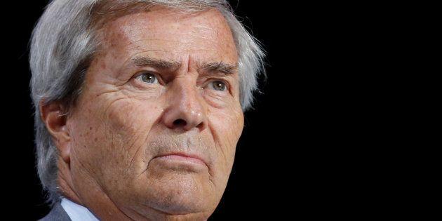 La garde à vue de Vincent Bolloré (ici en avril 2017) prolongée dans l'enquête sur des soupçons de corruption...