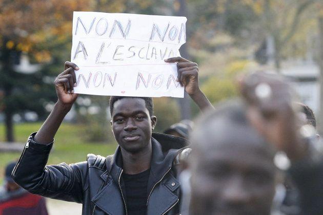 Un millier de manifestants à Paris contre l'esclavage en