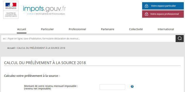 Calcul Le Salaire Brut Net Au Quebec 2018 Calcul Conversion >> Impots Gouv Fr Ouvre Un Simulateur De Prelevement A La Source Le