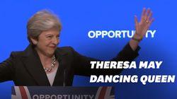 Theresa May a à nouveau fait admirer ses talents de